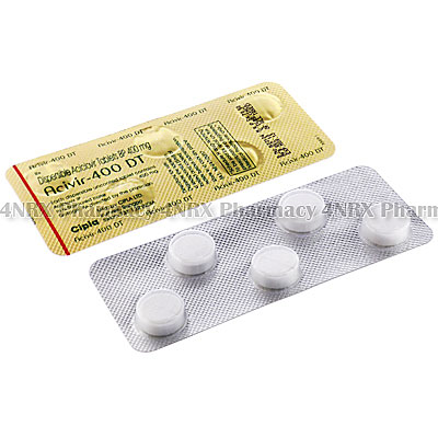 Acivir (Acyclovir) - 400mg (5 Tablets)
