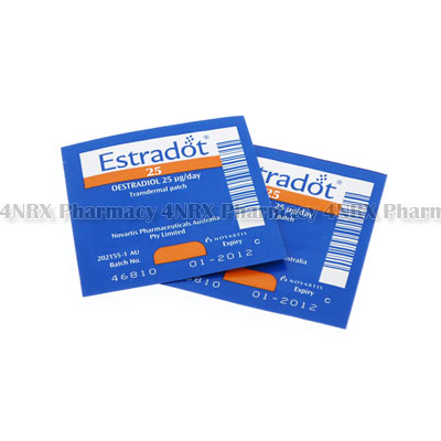 Estradot (Oestradiol) - 25mcg (8 Patches)