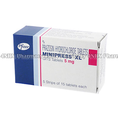 Minipress XL (Prazosin) - 5mg