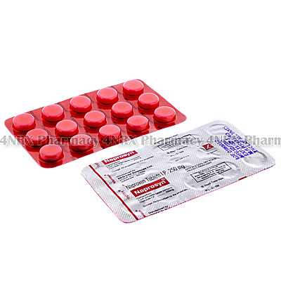 Naprosyn (Naproxen) - 250mg (15 Tablets)