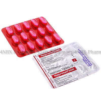 Naprosyn (Naproxen) - 500mg (15 Tablets)