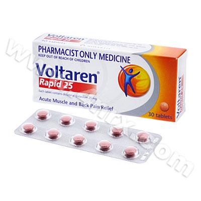 Zipsor Diclofenac Potassium 25mg
