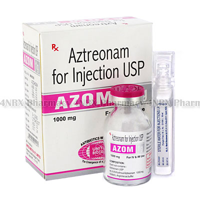Azom Injection (Aztreonam)