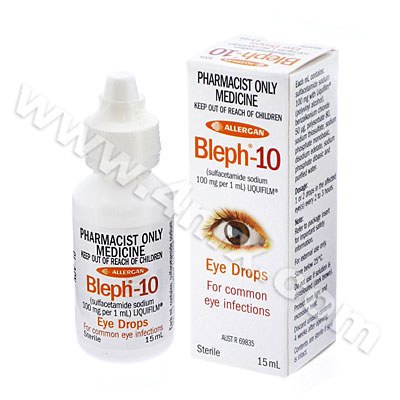 Bleph-10 Eye Drops (Sulfacetamide Sodium)