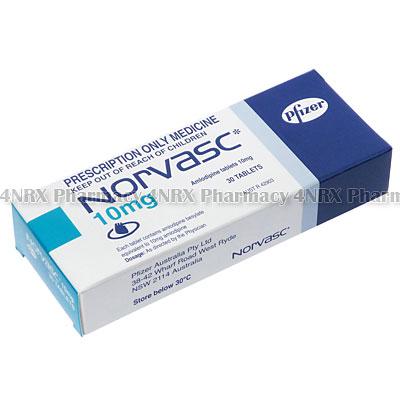 Norvasc (Amlodipine Besylate) - 4nrx