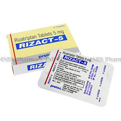 Rizact (Rizatriptan) - 4nrx