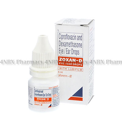 CILODEX 3 mg/ml / 1 mg/ml ear drops, suspension